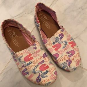 Toms shoes. (Ripped inner liner)